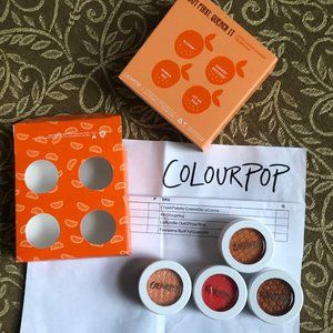 ColourPop BUT FIRST QUENCH IT Shadow Quad